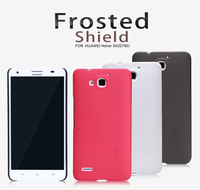 For HUAWEI Honor 3X G750 T00 Octa-core 1.7G 3G NILLKIN Rubberized Plastic Case free screen protector and shipping