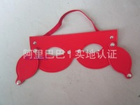 Free  shipping Novelty blindages mask fun toy adult sex supplies metal rivet flirt prom
