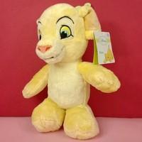 Free shipping 28cm cute cartoon the king lion plush Nala plush stuffed toy birthday gift for kids