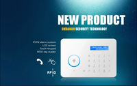 Chuango CG-A11 PSTN phone wireless home security shop burglar alarm infrared alarm