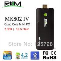 MK802IV Quad core Android 4.2 Rockchip RK3188 2G DDR3 16G ROM Bluetooth HDMI TF card [MK802IV/16G/BT]