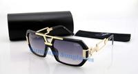 Free shipping New  famous brand Cazal  oculos de sol  for men  women oversize frame sunglasses with Original box  627