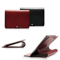 Top Grade Italian Calfskin Leather Case for iPad mini Solf Stand Skin Genuine Leather Business Smart Cover for Apple iPad mini