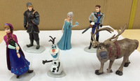 Wholesale animation around 6 Dairy Queen ice ice Romance Adventure ornaments