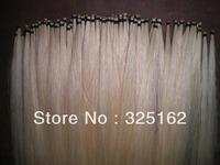 50 Hanks White Mongolia Violin Bow hair 32 inches, 6 grams/hank