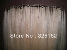 50 Hanks White Mongolia Violin Bow hair 32 inches 6 grams hank