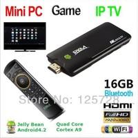 MK802IV/16G+MK705 ! MK802IV Quad core Android 4.2 Rockchip RK3188 2G DDR3 16G ROM Bluetooth HDMI TF card