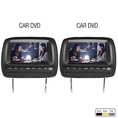 9 Inch Car Headrest DVD Player Support FM Transmitter Wireless Game Free Headphones (1 Pair)(China (Mainland))