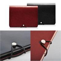 Top Grade Italian Calfskin Soft Genuine Leather Case for iPad mini Slim Business Real Leather Stand Smart Cover  for iPad mini