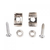 Guitar Roller String Tree Guide Retainer Spacer Screw-Chrome Plating