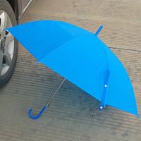 Popular candy color automatic transparent umbrella straight handle advertising umbrella child painting umbrella