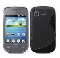 High Quality Soft TPU Gel S line Skin Cover Case For Samsung Galaxy Pocket Neo S5310 Free Shipping UPS DHL EMS HKPAM CPAM
