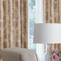 Free shipping Curtain quality jacquard curtain cloth quality finished product curtain fabric