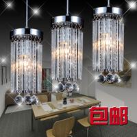 2014 Time-limited Real Freeshipping Lustres De Teto Restaurant Lamp Pendant Light Crystal Led Lighting Brief Modern Single Head