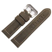 Brand BAND 2014 Top Male Calfskin Genuine Leather Watchband 24mm