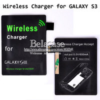 Wireless Charger Qi Standard Receiver Module Accept For Samsung Galaxy S3 I9300 Output DC 5.0V/650mA Cheap Price Free Ship
