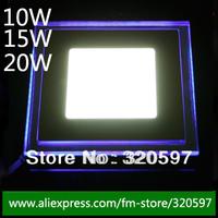Freeship by post 1 pcs Square LED Panel Down light 10W 15W 20W Cool White Warm White Light