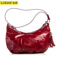 Cross-body oil waxing women's leather genuine leather handbag 2014 trend fashion vintage one shoulder cross-body women's