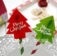 New chrismas tree design sticker,Christmas Packaging Stickers,gift Labels. (ss-7118-1)