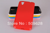 Cheapest price 5pcs/lot TPU Jelly back cover silicone case for lenovo S960 K910 A766 S930 Free shipping wholesale 5 colors