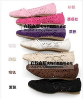 2014 summer new flat knit openwork sandals comfortable shoes multicolor knit European Size :35-41