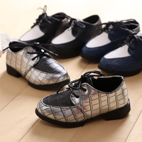 free shipping 2014 spring children shoes lacing pointed toe child baby male child casual leather