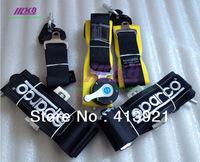 "New Universal Sparco 4 Point Seat Belt +""Surprise Gift"" /Harness/Black Racing Satefy Seat Belt/four Point seat belt belt"