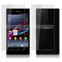 for Sony Xperia Z1 Matte Screen Protector L39h Display Anti-Glare Frosted Guard Film Front Back A+B 3sets/lot