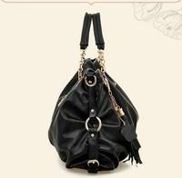 2014 New Arrived women's fashion Leather Bag Shoulder Bag soft pu leather women messenger  handbag free shipping P72
