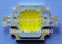 10pcs/lot 10W LED Integrated High Power Lamp Beads White/Warm white 900mA 10-12V 800-900LM 24*40mil Aluminum bracket