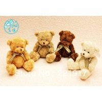 Chinese valentine's day gifts stuffed teddy bear doll plush toys wholesale 15 cm single birthday gifts