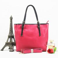Fashion cowhide brief shopping bag casual fashion all-match portable one shoulder cross-body women's genuine leather handbag