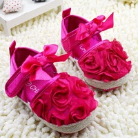 Wholesale 2014 new style good beautiful Baby shoes child 6pairs/lot kid footwear infant shoes free shipping
