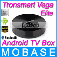 Tronsmart Vega Elite S89 Amlogic S802 Quad Core 2GHz Android TV Box 2G/8G Mali450 GPU 4K HDMI Bluetooth WiFi Smart TV Receiver