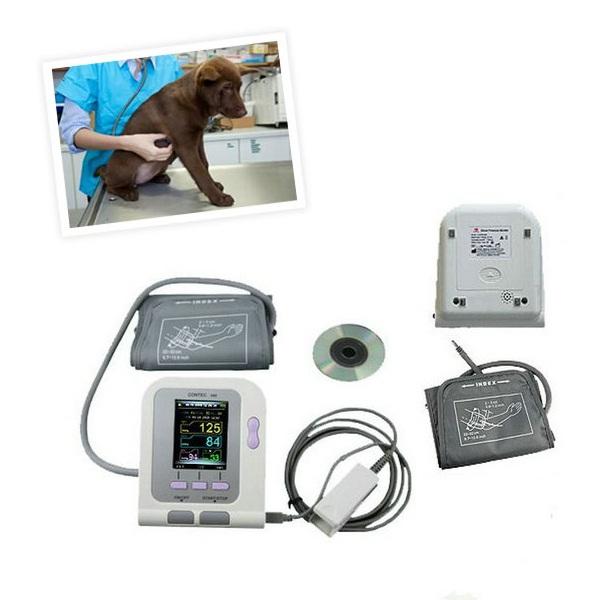 CONTEC08A Veterinary NEW Digital Blood Pressure +spo Probe& Heart Beat Monitor NIBP(China (Mainland))