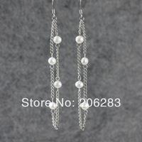 Mix $10 Pearl earrings tassel bohemia jewelry accessories earring drop earring