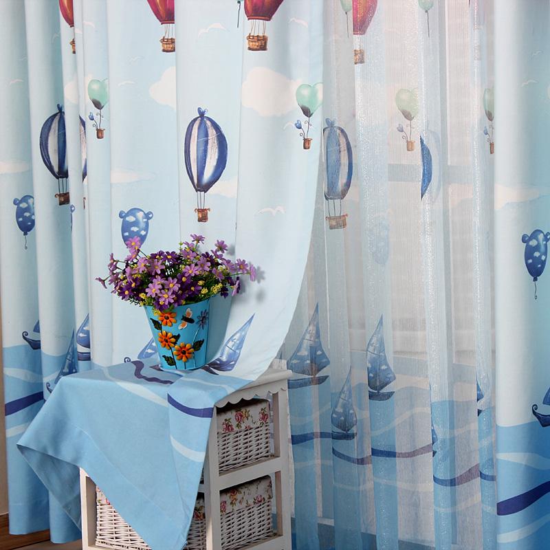 morden kids bedroom curtains boy curtains for living room bedroom blue