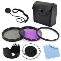 5-Pack 67mm Filter Set Lens cap Lens Hood For Canon EOS Rebel SL1 T5i T4i T3i 6D Free shipping
