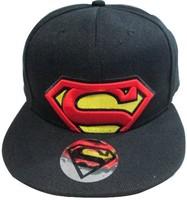 New Hot Sale High Quality Cartoon Style  Superman Snapback Caps Hat  Funny Fashion Hip pop Baseball cap