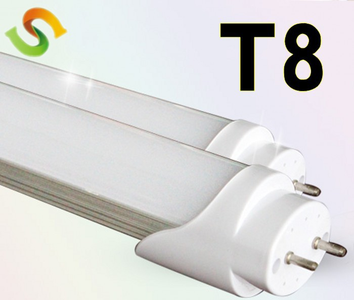 smd 2835 20w led milkly cover T8 1200mm led tube light 110-220v voltage by 15pcs/lot good quality factory outlet(China (Mainland))