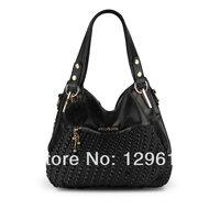 free shipping 2014  handbag shoulder bag messenger bag women handbag women  genuine leather handbags big bags famous brands