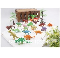 Hot selling Original PVC Dinosaur toys 22pcs/set Model Animal Simulation Model Dinosaur for Children's Gift