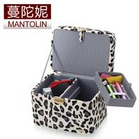 Black and white leopard print jewelry box jewelry storage box jewelry box cosmetic box