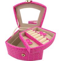 Jewelry box ring cufflinks accessories jewelry pocket-size Small storage box storage box