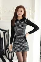 In 2013, qiu dong han edition cultivate one's morality more upscale warm cloth dress is free shipping