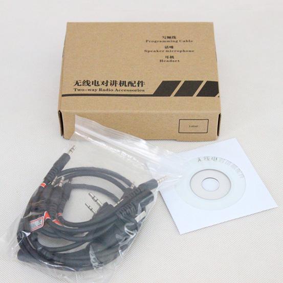 6 in 1 USB Program Programming Cable For Kenwood Motorola HYT ICOM YAESU BaoFeng UV-5R UV-B6 BF-888S TG-UV2 KG-UVD1P etc. Radios(China (Mainland))