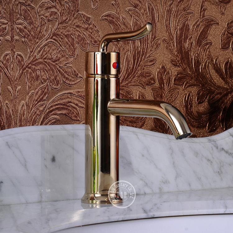 Faucet Gold Bathroom Tap Mixer