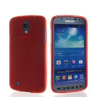 Soft Gel Tpu Silicone Frosted Skin Style Devise Back Case Cover for Samsung Galaxy S4 Active I9295