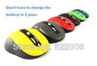 free shipping,Laptop wireless mouse, buttons are silent, save electricity, game performance, grind arenaceous mouse