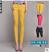 High quality Women's Brand pants 2014 spring pencil pants casual pants S-XXL free shipping XM- C8002